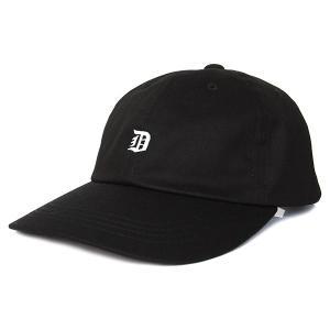 DELICIOUS デリシャス OLD 6PANEL CAP オールド 6パネル キャップ ラルフ メンズ レディース 帽子 BLACK ブラック DLCS1184|goldentijuana