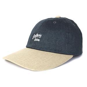 DELICIOUS デリシャス GOOD MORNING 6PANEL CAP グッドモーニング 6パネル キャップ ラルフ メンズ レディース 帽子 ネイビー DLCS1184|goldentijuana