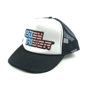 SCHOTT x EASY RIDER ショット イージーライダー MESH CAP メッシュ キャップ STAR&STRIPES 星条旗 メンズ ブラック 3189018|goldentijuana
