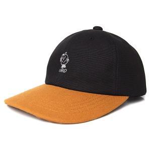 DELICIOUS デリシャス x SAND サンド (SAYHELLO) MR.D 6PANEL DUCK CAP アップル 6パネル ダック キャップ メンズ レディース BLACK DLCS1240|goldentijuana