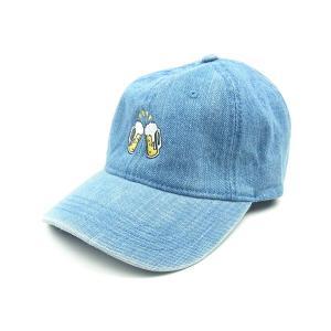WORLD WODE FAMOUS ワールドワイドフェイマス BEER CAP ビール 乾杯 キャップ 帽子 デニム メンズ レディース WWF-16W17SP043