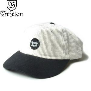 BRIXTON ブリクストン 00424 WHEELER STRAPBACK CAP ウィーラー コーデュロイ キャップ 帽子 ストラップバック メンズ レディース ユニセックス 2トーン|goldentijuana