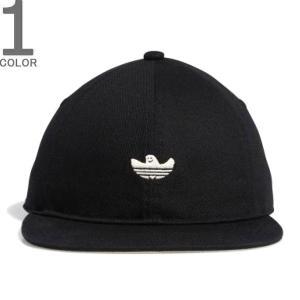 ADIDAS ORIGINALS アディダス オリジナルス EC6492 SHMOO 6PANEL CAP シュムー 6パルキャップ 帽子 シュムーフォイル メンズ レディース ブラック|goldentijuana