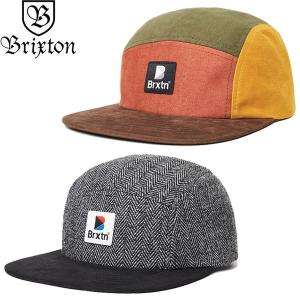 BRIXTON ブリクストン 00977 STOWELL 5 PANEL CAP ストウェル 5パネル キャップ 帽子 クレイジーパターン ヘリンボーン メンズ レディース ユニセックス 2カラー|goldentijuana