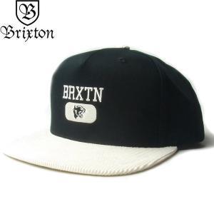 BRIXTON ブリクストン 10411 FORTE VI MP SNAPBACK CAP フォルト 6 キャップ 帽子 スナップバック メンズ レディース ユニセックス ブラック|goldentijuana