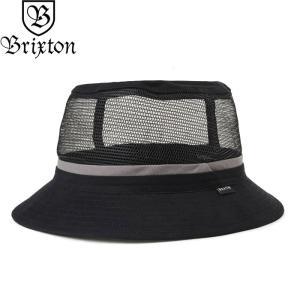 a1e20310103bb BRIXTON ブリクストン 00852 HARDY BUCKET HAT ハーディ バケット ハット メッシュ 帽子 ブラック メンズ レディース  ユニセックス