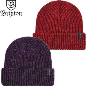 BRIXTON ブリクストン 10467 FILTER BEANIE KNIT CAP フィルター ビーニー ニット キャップ 帽子 メンズ レディース ユニセックス 2カラー|goldentijuana