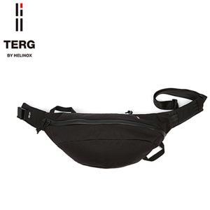 TERG by HELINOX MEDIUM WAIST BAG ターグ バイ ヘリノックス ラージ ウエスト バッグ ブラック 001802 送料無料|goldentijuana