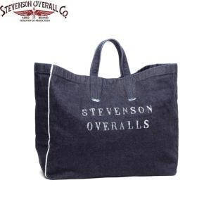 STEVENSON OVERALL スティーブンソン オーバーオール DTS Denim Tote Bag by SUNSET CRAFTSMAN CO デニム トート バッグ サンセット クラフツマン 送料無料|goldentijuana