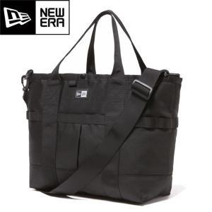 NEWERA ニューエラ 11404124 TOTE BAG トート バッグ ショルダーバッグ 2way ジップ ファスナー 鞄 22L ブラック メンズ レディース 送料無料|goldentijuana