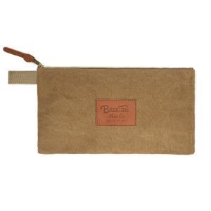 BRIXTON ブリクストン COFFER TOOL BAG コファー ツールバッグ CLUTCH BAG クラッチ バッグ BROWN ブラウン 116-05118|goldentijuana