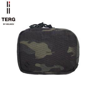 TERG by HELINOX ターグ バイ ヘリノックス L POUCH S ミニ ポーチ マルチリンク ブラックマルチカモ 19935003039003|goldentijuana