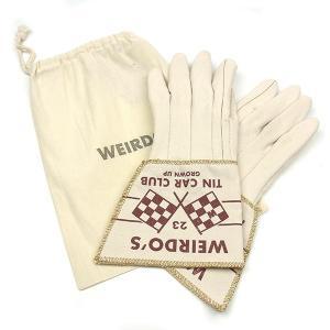 WEIRDO ウィアード WTCC GLOVE メカニック グローブ ナチュラル メンズ 手袋 WRD-16-AW-G06|goldentijuana