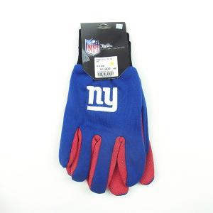 USA TEAM GOODS ユーエスエー チーム グッズ NFL UTILITY GLOVE ユーティリティー グローブ 手袋 GIANTS ジャイアンツ ブルー メンズ|goldentijuana