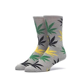 ハフ プラントリーフ クルーソックス 靴下 HUF PLANT LIFE CREW SOCKS メンズ レディース|goldentijuana