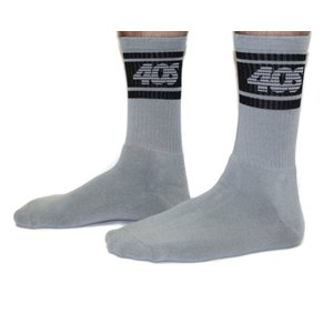 40S & Shorties フォーティーズ&ショーティーズ 40S Stripe ストライプ SOCKS 靴下 グレイ メンズ レディース 4016FA10|goldentijuana