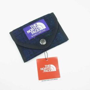 NORTH FACE PURPLE LABEL ノースフェイス パープルレーベル WOOL CARD CASE ウール カードケース メンズ レディース ブラックウォッチ NN8952N|goldentijuana