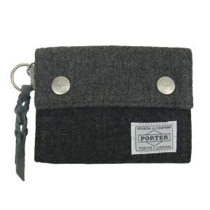 ESSENTIAL DESIGNS x PORTER Patchwork 3fold wallet E1234810 エッセンシャルデザイン ポーター 三つ折り 財布|goldentijuana