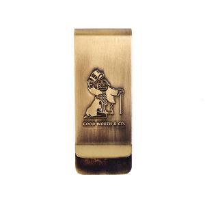 Good Worth & Co グッドワース BJ MONEY CLIP ブロージョブ マネークリップ GOLD ゴールド 真鍮 GW139|goldentijuana