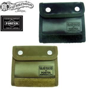 GLAD HAND x PORTER グラッドハンド ポーター FADE WALLET SHORT フェード ウォレット 財布 メンズ 2カラー GH-FADE-WALLET 送料無料 goldentijuana