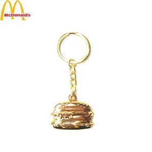 McDonald マクドナルド MC BIGMAC KEY HOLDER ビッグマック キーホルダー マック メンズ レディース ゴールド 海外限定|goldentijuana