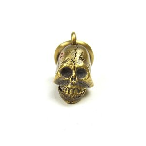 Golden tijuana weirdo souvenir skull pendant top weirdo souvenir skull pendant top hotrod brass mozeypictures Images