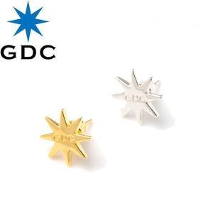 GDC ジーディーシー C37009 OCTAGON PIERCE オクタゴン ピアス スターリングシルバー シルバー925 アクセサリー メンズ レディース 2カラー goldentijuana