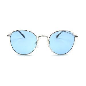 BLACK FLYS ブラックフライズ FLY NORTON フライ ノートン ラウンド メタルフレーム サングラス SILVER / LIGHT BLUE メンズ BF-15502-6520 送料無料|goldentijuana