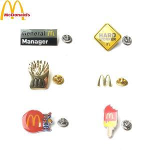 McDonald マクドナルド MC LAPEL PIN ラペル ピン バッジ ピンバッチ マック メンズ レディース 6タイプ 海外限定|goldentijuana