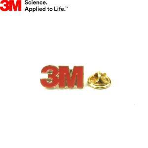 3M Company スリーエム カンパニー OFFICIAL BASIC LOGO PIN BADGE オフィシャル ロゴ ピンバッチ バッヂ メンズ レディース 日本未発売|goldentijuana