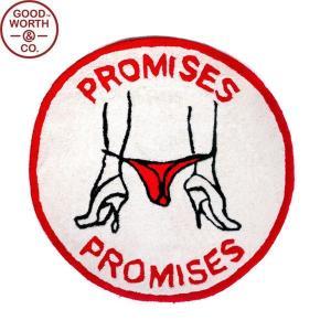 GOOD WORTH グッドワース PROMISES RUG MAT プロミス ラグ マット ドアマット カーペット インテリア メンズ レディース ギフト 送料無料|goldentijuana
