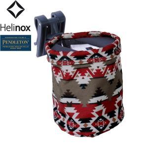 PENDLETON x HELINOX ペンドルトン ヘリノックス Cup Holder カップホルダー ドリンクホルダー イス フック 取り付け可能 Mountain Majesty レッド|goldentijuana