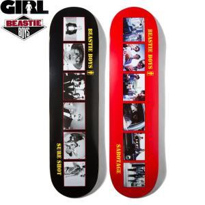 GIRL SKATEBORDING ガール スケートボーディング x BEASTIE BOYS ビースティーボーイズ SURE SHOT SABOTAGE DECK デッキ GBB1 GBB2 送料無料|goldentijuana