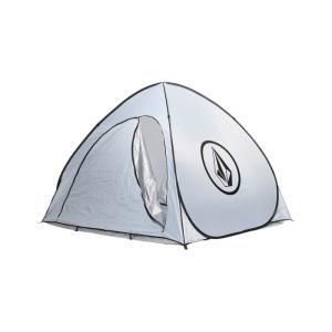 VOLCOM ボルコム CIRCLE STONE FOLDING TENT D67118JD サークルストーン フォールディング テント ポップアップシェード 簡易テント ワンタッチ ホワイト|goldentijuana