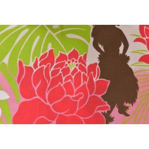 【生地】カットクロス、ハワイアン、フラダンス、モンステラ、約50cmカット済み110cm巾|goldplants-et