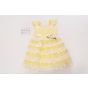 【レンタル】レンタルドレス/3歳用/黄色/レース|goldplants-et