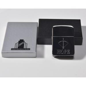 ZIPPO/ジッポー/HOPE/ホープ/1941レプリカ/ブラック/メタル/鏡面/|goldplants-et