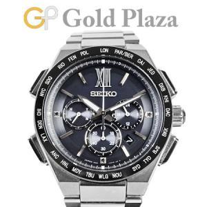 セイコー SEIKO ブライツ フライト エキスパート チタン ソーラー電波式 メンズ 腕時計 ブラ...
