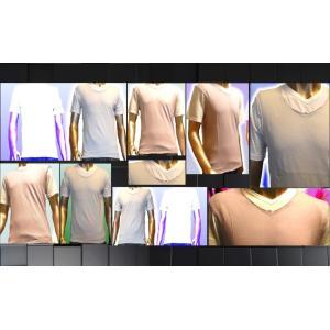 SHAGGY アンサンブルVネックTシャツ|goldress