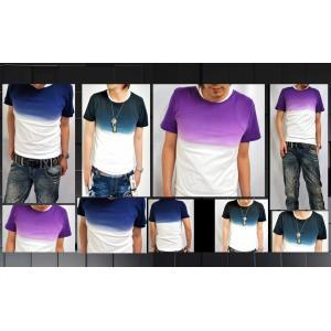 SHAGGY アンサンブルグラデーションTシャツ|goldress
