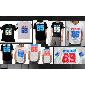 REC  ピースナンバリングプリントTシャツ|goldress