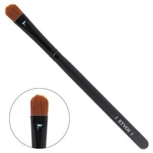 ETVOS(エトヴォス) アイシャドーブラシ 平らで毛先を丸カット/アイシャドウ用化粧筆 重ね塗り対応 14cm|goldriver