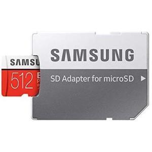 Samsung microSD カード 512GB EVO Plus Class10 UHS-I対応...