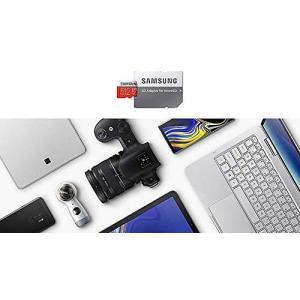SAMSUNG microSDXC 512GB Class10 U3 4K対応 R:100MB/s ...