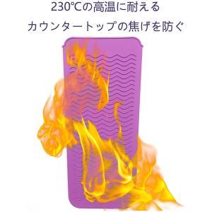 ヘアアイロン耐熱ポーチ 滑り止めマット 2way 260℃の高温も耐熱しやけど防止 旅行出張など携帯に便利 ピンク|goldriver