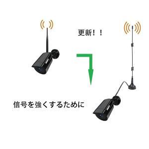 TMEZON 2条セット 延長ケーブルWifiアンテナ 3m Wifi 監視防犯カメラ汎用ブースターアンテナ マグネットアンテナ 7dBi goldriver
