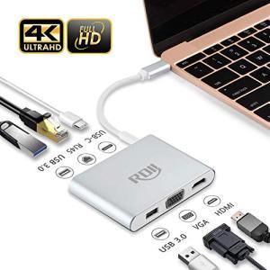 USB C ハブThunderbolt3 対応 ドッキングステーション ウルトラスリム RDII Type-C タイプC充電 Hub HDM|goldriver
