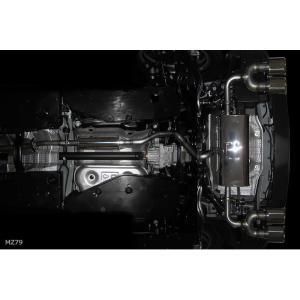 M'z SPEED エムズ スピード ゼウス [ LUV LINE ] C-HR (2016/12-) エキゾーストシステム 左右4本出し (MZ79) 1200T / 4WD|goldrush-store