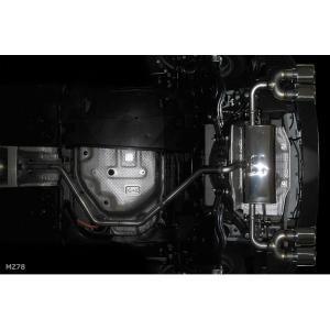 M'z SPEED エムズ スピード ゼウス [ LUV LINE ] C-HR (2016/12-) エキゾーストシステム 左右4本出し (MZ78) 1800 / HV|goldrush-store