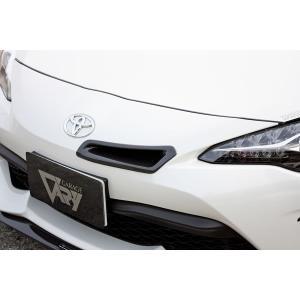 VARY ガレージベリー トヨタ 86 後期 インテークダクト カーボン 30-2034 導入ダクト付(FRP)|goldrush-store